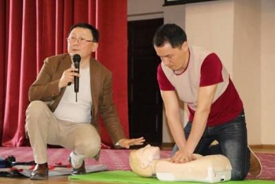 В Алматы прошел мастер-класс по оказанию Первой Помощи