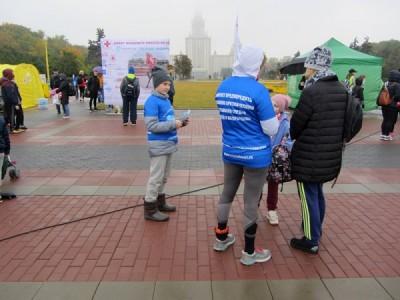 Волонтёры «Хрустального сердца» привлекли внимание к проблеме опасных аритмий во время благотворительного забега Российского Красного Креста